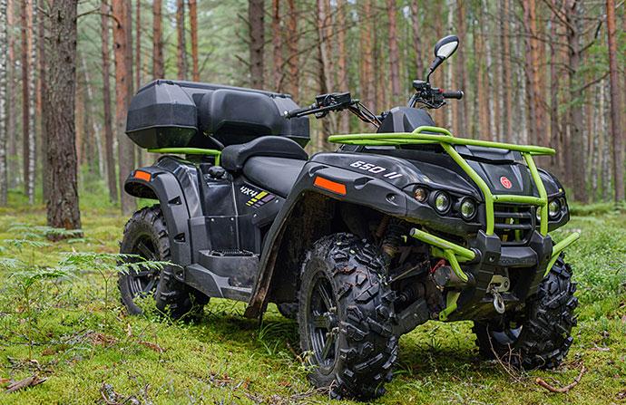 Квадроцикл РМ 650-2